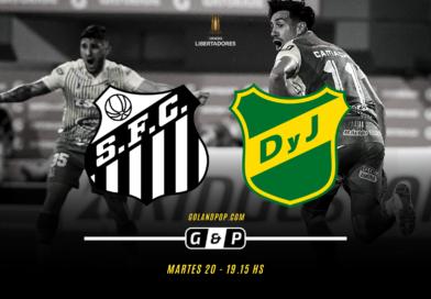Santos vs Defensa y Justicia EN VIVO por Copa Libertadores 2020
