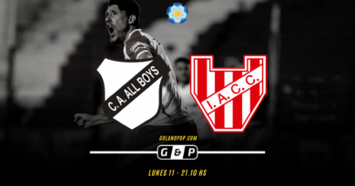 All Boys vs Instituto EN VIVO por Primera Nacional